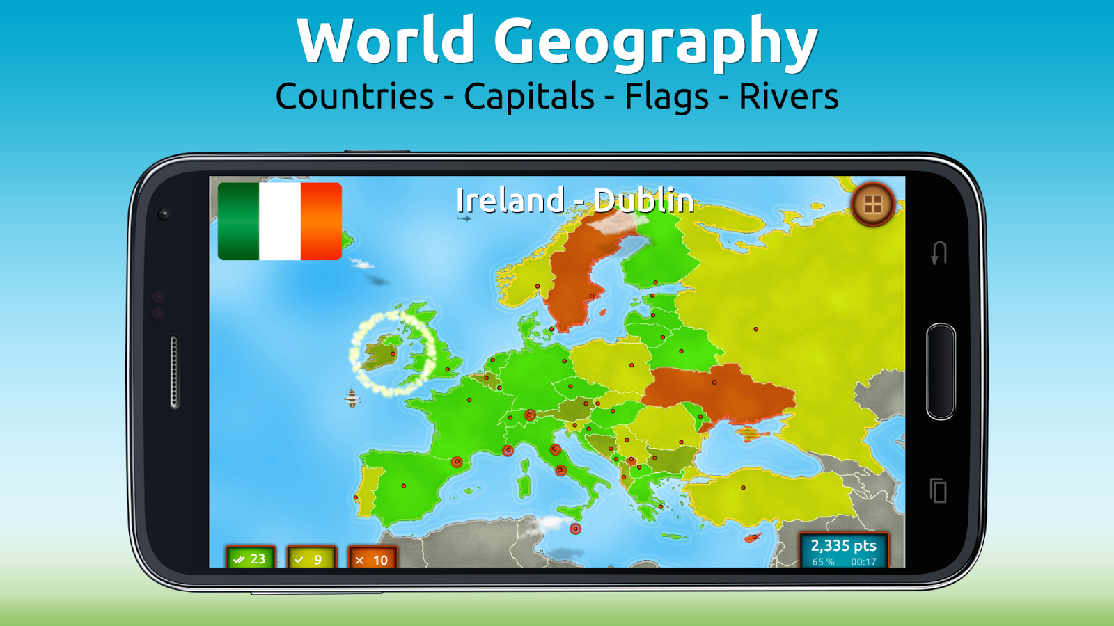 GeoExpert - World Geography Screenshot 0