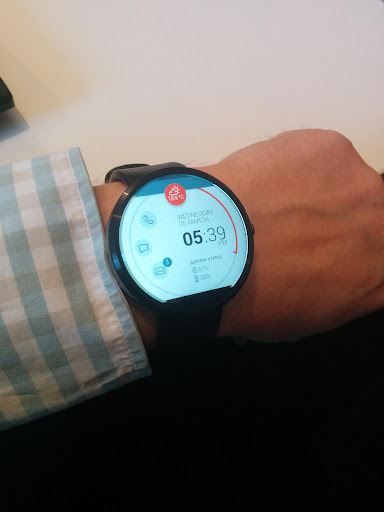 Notifier Watch Face - screenshot