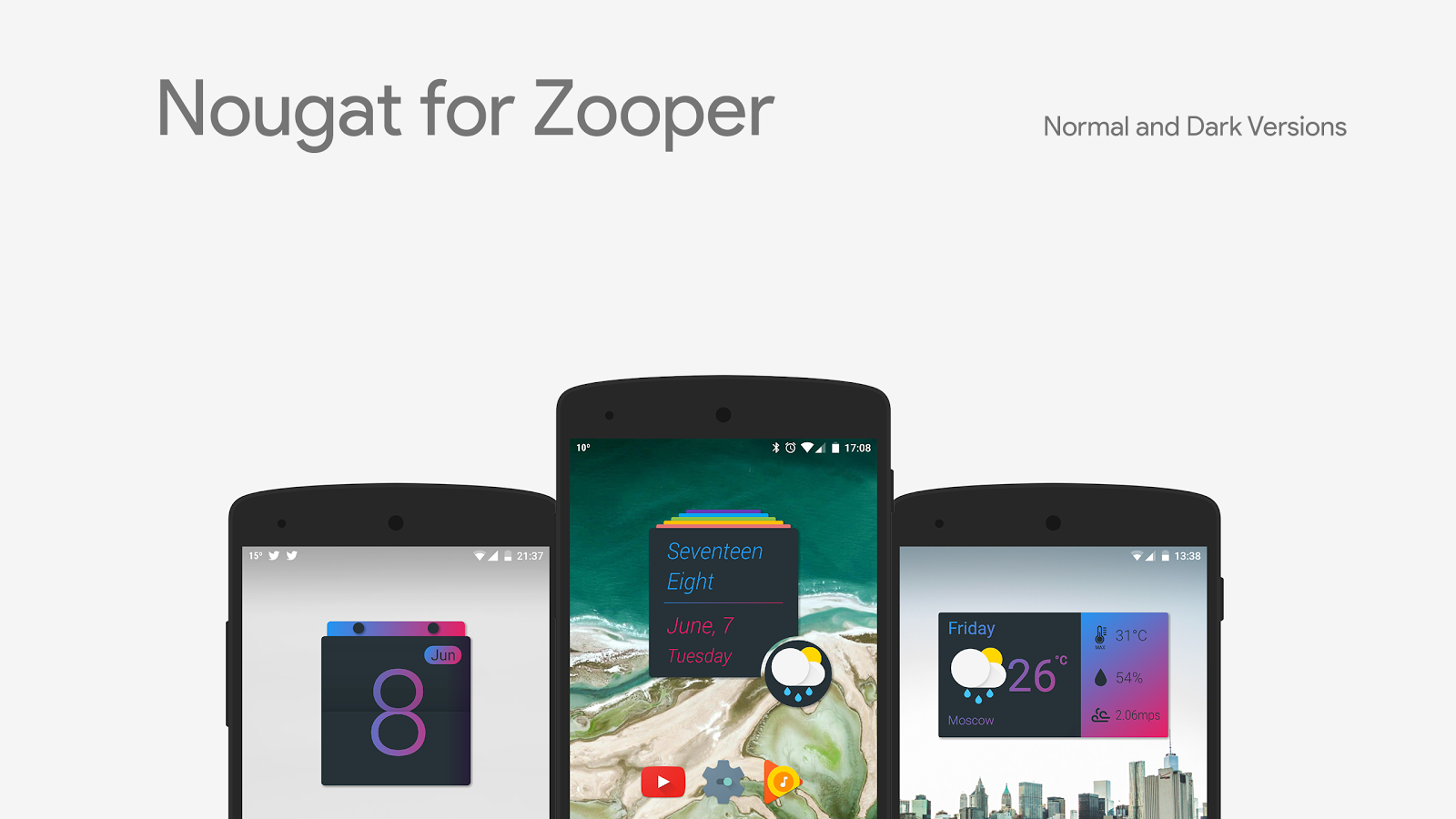 Nougat for Zooper Screenshot 1
