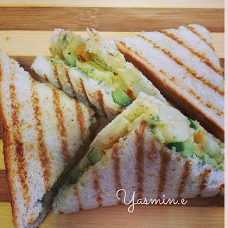 Vegetable Sandwich Potato Recipes