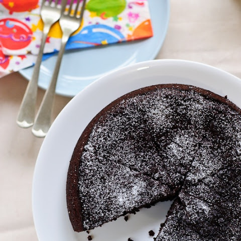 Chocolate Olive Oil Cake (Gluten Free)