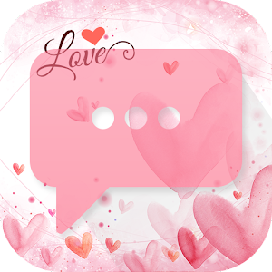 Love Pink Theme-Messaging 7
