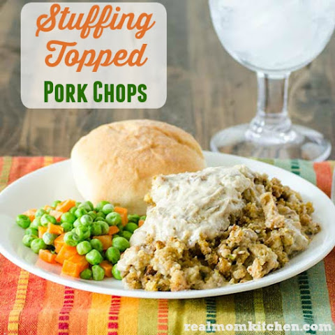 Stuffing Topped Pork Chops