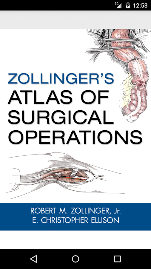 Zollinger's Atlas of Surgery Screenshot 0