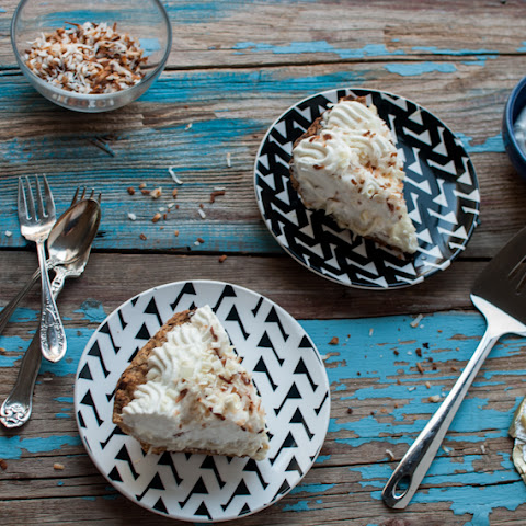 Coconut Cream Pie, adapted from Dahlia Bakery Cookbook