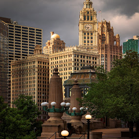 Wrigley Building by Jon Kinney - Buildings & Architecture Office Buildings & Hotels
