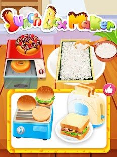 Lunch Box Maker Cooking Games Screenshot Thumbnail