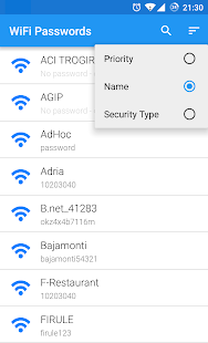 WiFi Passwords [ROOT] Screenshot