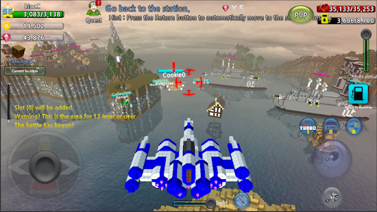 Game Block Aircraft-PVP (Real-time) apk for kindle fire