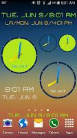 Screenshot of ClockView