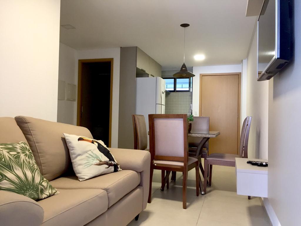 Apartamento com 2 dormitórios para alugar, 50 m² por R$ 2.050/mês - Tambaú - João Pessoa/PB