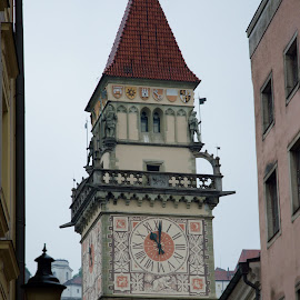 Passau Town Hall by Austin Speaker - Buildings & Architecture Public & Historical ( gothic, bavaria, passau, town hall, germany )