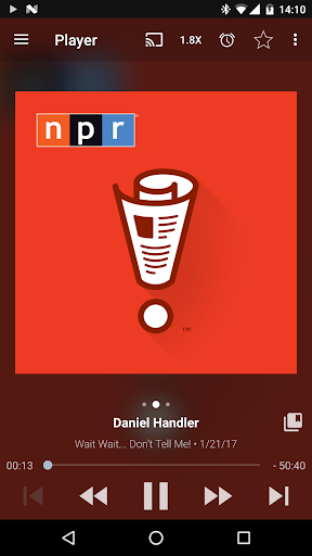Podcast Addict - Donate screenshot 1