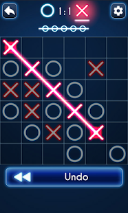 Game Tic Tac Toe Glow apk for kindle fire