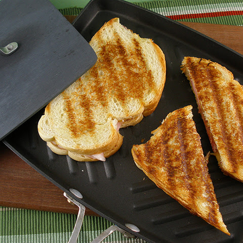 Classic Grilled Ham & Cheese Sandwich