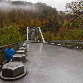 Bolts by Kevin Frick - Buildings & Architecture Bridges & Suspended Structures ( west virginia, fall, walker, bridge, bolts )