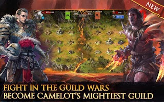 Screenshot of Heroes of Camelot