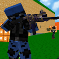 Game Blocky Combat SWAT APK for Kindle