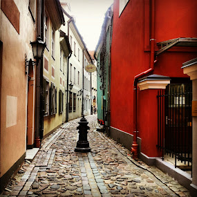 Oldtown in Riga by Julija Moroza Broberg - Instagram & Mobile Android ( old, oldtown, art, street, beautiful, travel, town, city )
