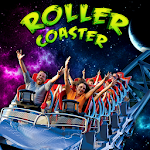 Space Roller Coaster 3D Icon
