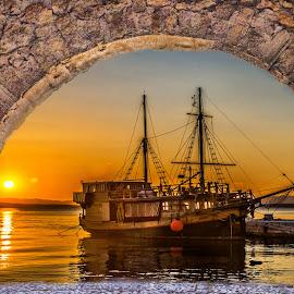sailingship by Eseker RI - Transportation Boats