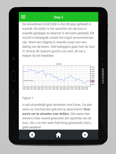 Forex game application