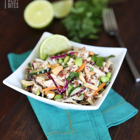 Healthy Thai Chicken Salad (for 1!)