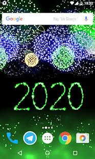 New Year 2020 Fireworks