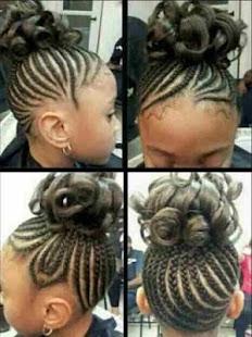Braid Hairstyle Woman & Child