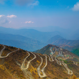 silk route by Biplab Dey - Uncategorized All Uncategorized ( silk route, hill, east, india, sikkim )