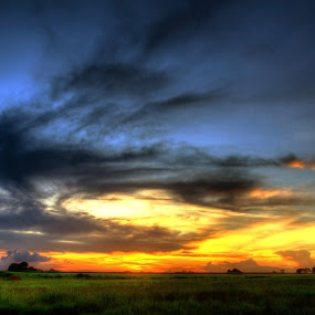 Sunset in SC by Danny Robbins - Landscapes Sunsets & Sunrises