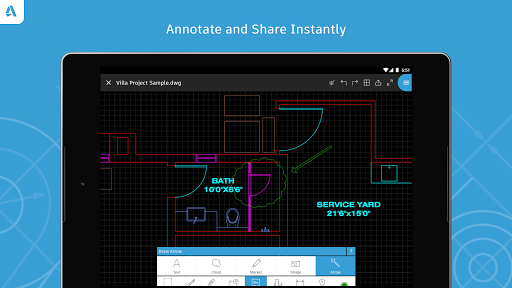 AutoCAD - DWG Viewer & Editor screenshot 18
