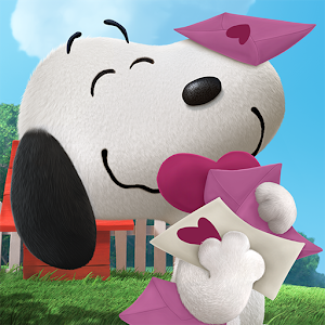 Cover art Peanuts: Snoopys Town Tale