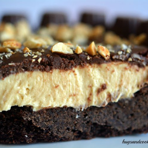 Chocolate Peanut Buter Pie With a Cookie Crust