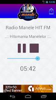Screenshot of manele Radio
