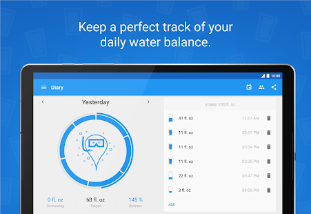 Hydro Coach PRO - drink water- screenshot thumbnail