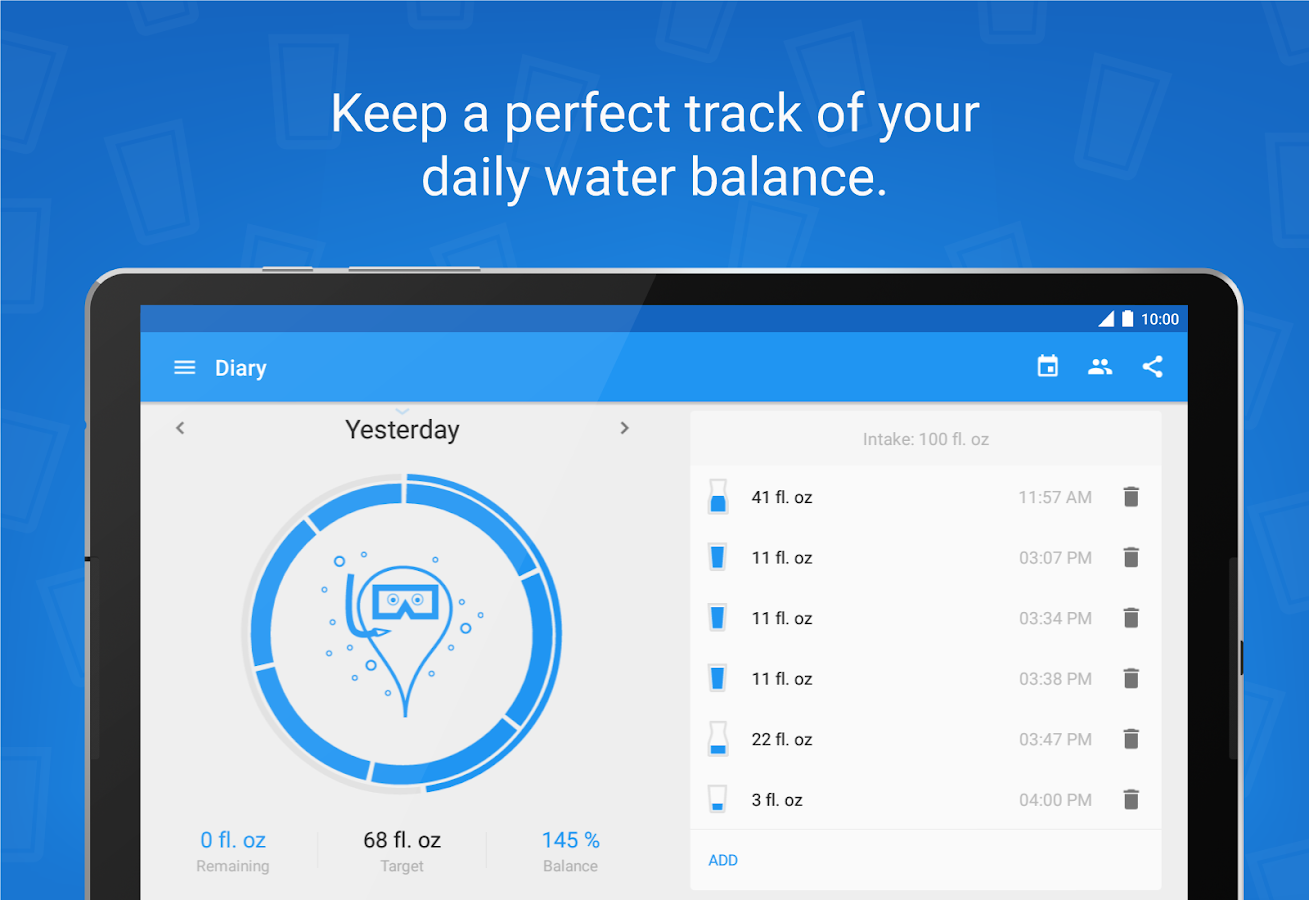 Hydro Coach PRO - drink water Screenshot 9