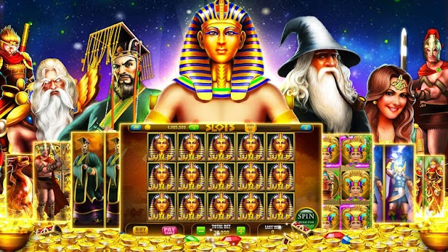Slots™: Pharaoh Slot Machines APK screenshot thumbnail 1