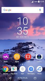 App Evening Sea Xperia Theme APK for Kindle