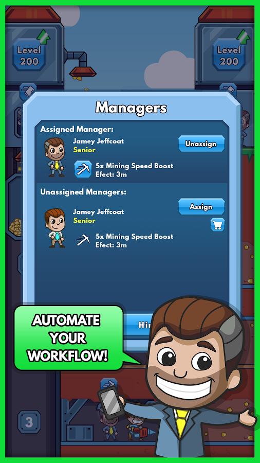 Idle Miner Tycoon Screenshot 3