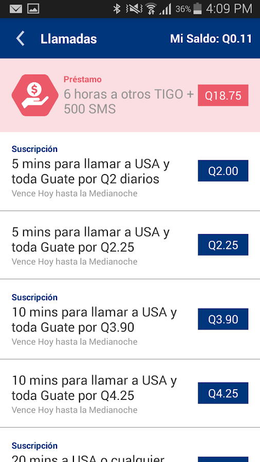 Tigo Shop Screenshot 11