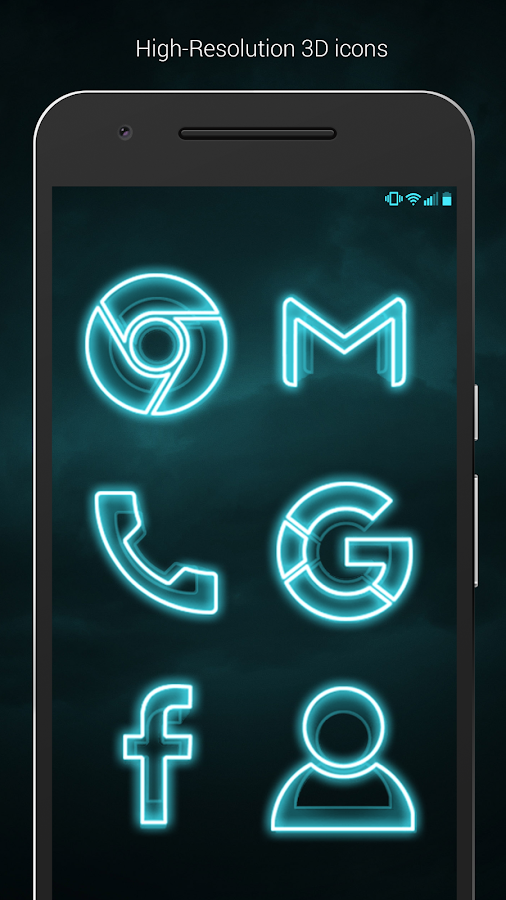 The Grid - Icon Pack (Pro Version) Screenshot 3