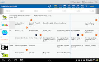 Screenshot of NET