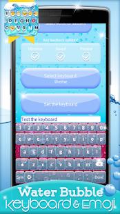 App Water Bubble Keyboard & Emoji APK for Kindle