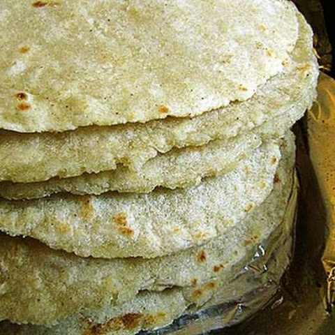 Soft Flour-Corn Tortillas