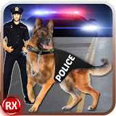 Police Dog Chase: Crime City APK for Bluestacks