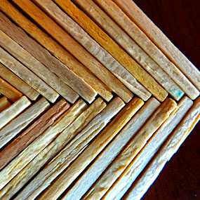 Match sticks by Brijesh Shivashankar - Artistic Objects Other Objects ( zig zag, matches, wooden, sticks, fire )
