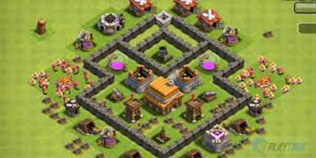 Complate Base COC TH 6-11 Free - screenshot