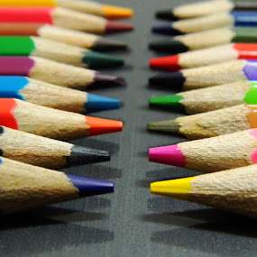 pencil art by SUBHAJIT PANJA - Artistic Objects Other Objects ( pencil, chalk, color pencil, artistic object, perspective,  )