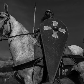 Soldat Normand by Francky Audouard - Black & White Portraits & People (  )